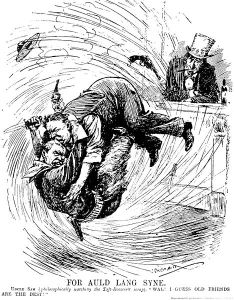 Taft, Roosevelt Political Cartoon