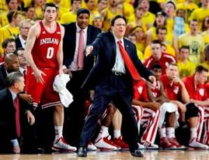Tom Crean IU vs MU 3-10-13