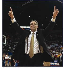 UWM Head Coach Bruce Pearl