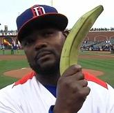 Fernando Rodney and his lucky plantain
