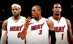 James,Wade, & Bosh