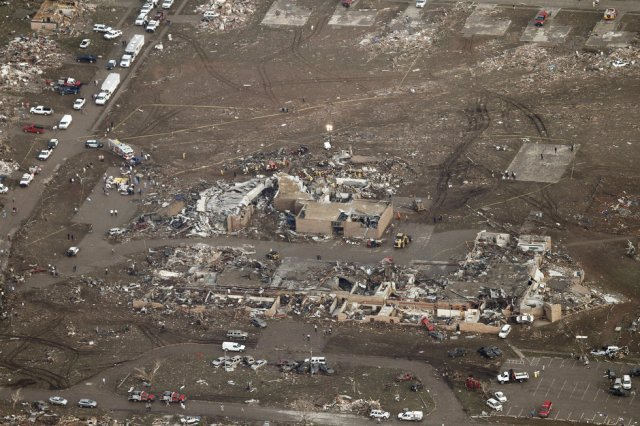 The aftermath. Moore,OK