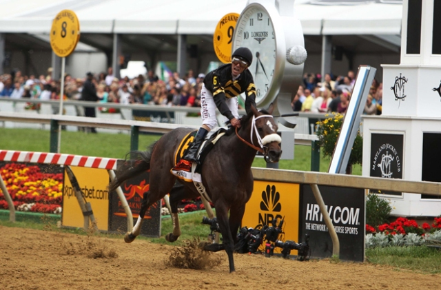 Oxbow Winner of the 138th Preakness Stakes