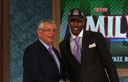 2009 NBA Draft Stern and Jennings