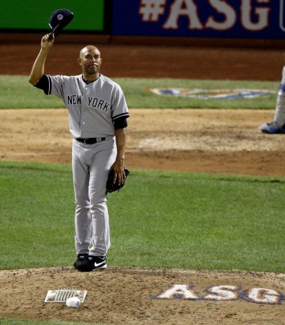 #42 Mariano Rivera NY Yankees 13th All-Star Game (bot.8th)