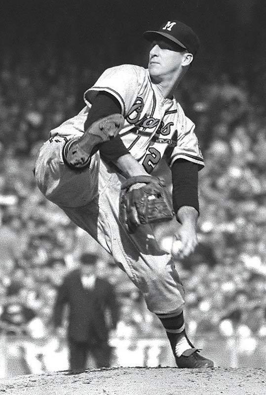 Spahn - Milwaukee Braves