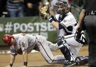 Lucroy 2011 NLDS vs Arizona
