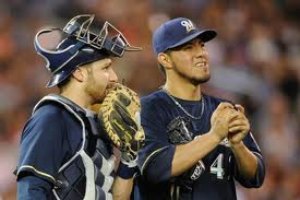 Lucroy and Gallardo