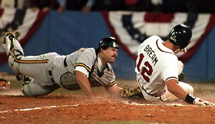 Braves defeat Pirates in N.L.C.S. 1992
