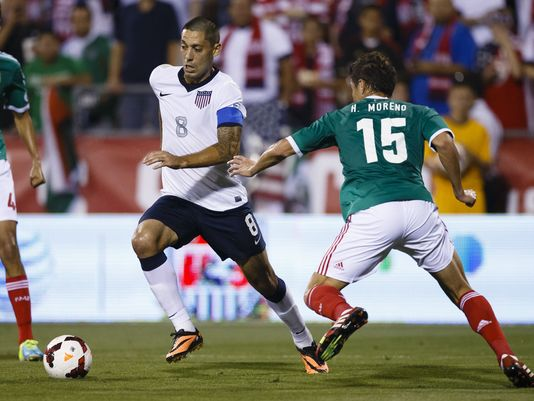 Clint Dempsey #8 USA vs Mexio