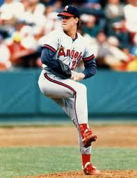 Jim Abbott with the Angels