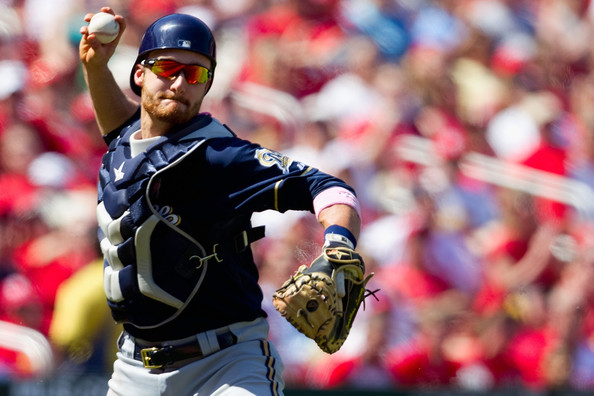 Jonathan Lucroy  2013 Roberto Clemente Award Canidate