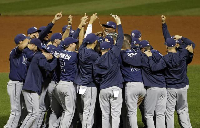 Rays WIN another elimination game on the road