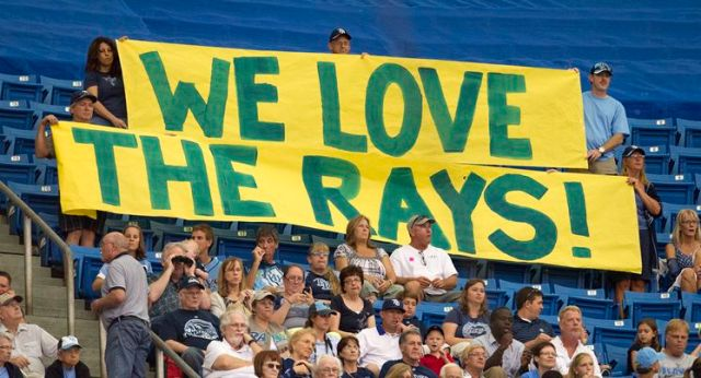 Rays fans need to prove it