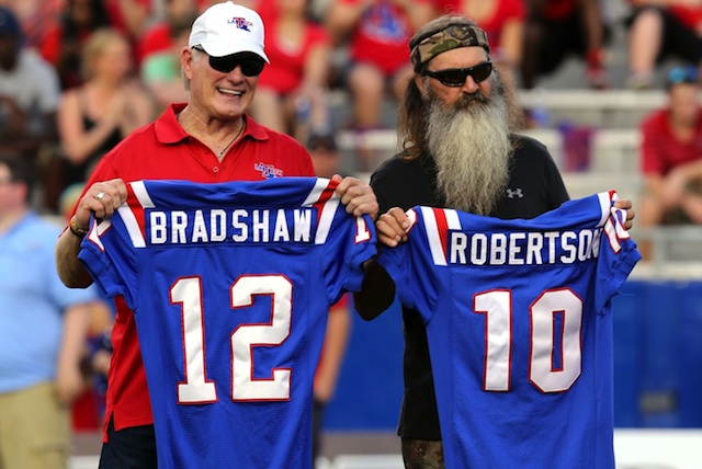 Terry Brashaw & Phil Robertson