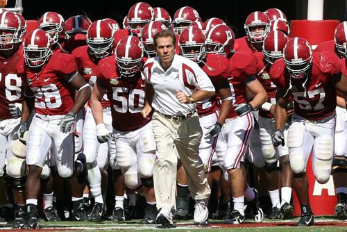 Nick Saban - Alabama
