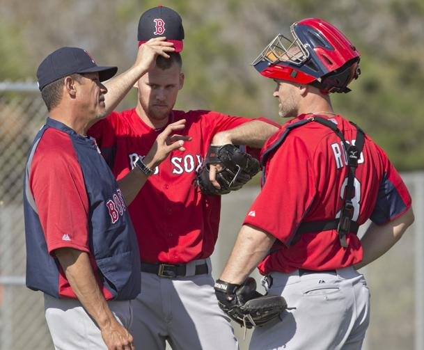 Neives as 2013 Red Sox Pitching Coach