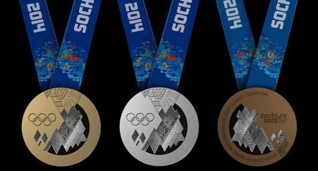 2014 Sochi Gold, Silver, and Bronze