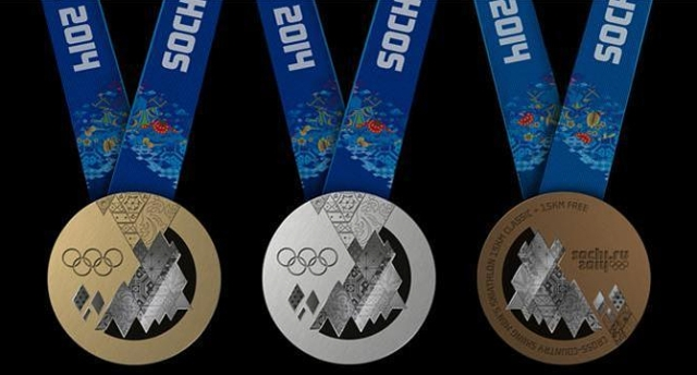 2014 Sochi Gold, Silver, and Bronze