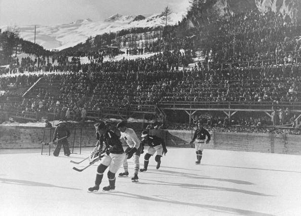 Bronze Medal Game 1928 Swiss Alps - Canada vs Switzerland