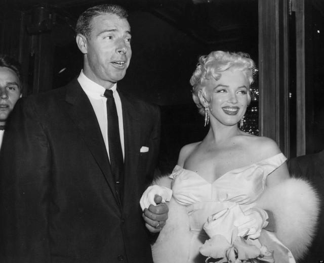 DiMaggio and Monroe