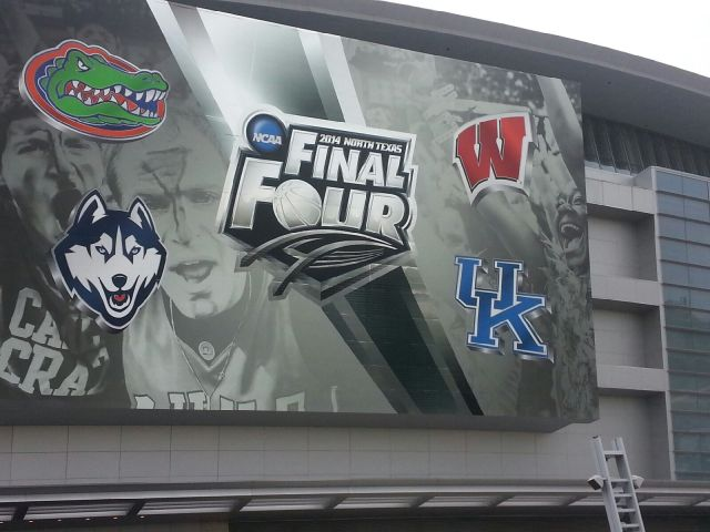 2014 Final Four in North Texas