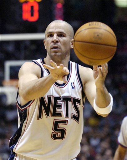 Kidd with the Nets